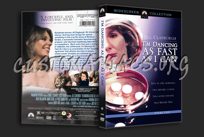 I'm Dancing as Fast as I Can dvd cover
