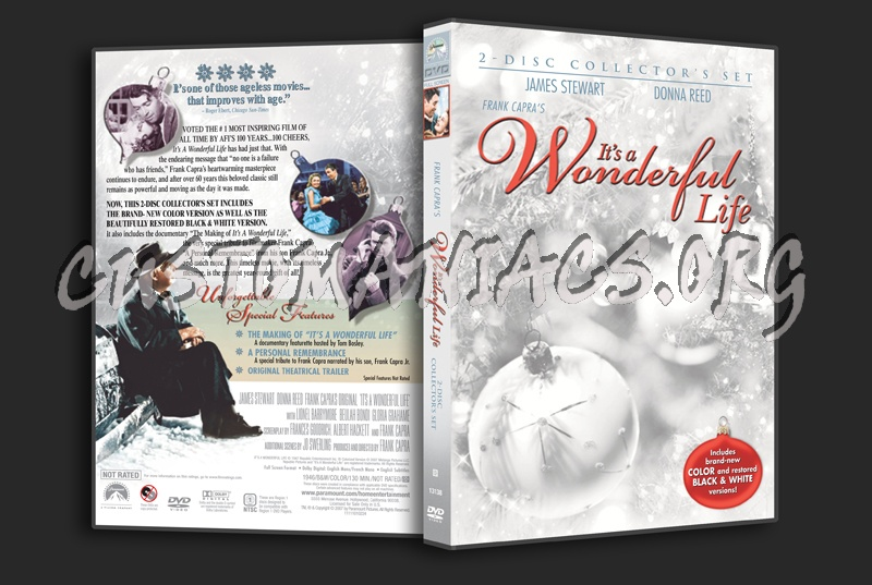 It\'s a Wonderful Life dvd cover