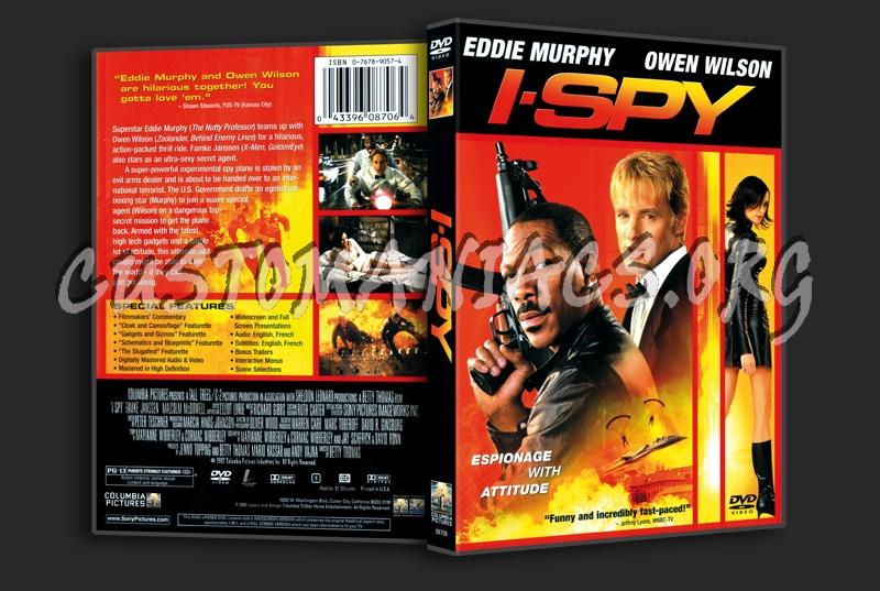 I Spy dvd cover