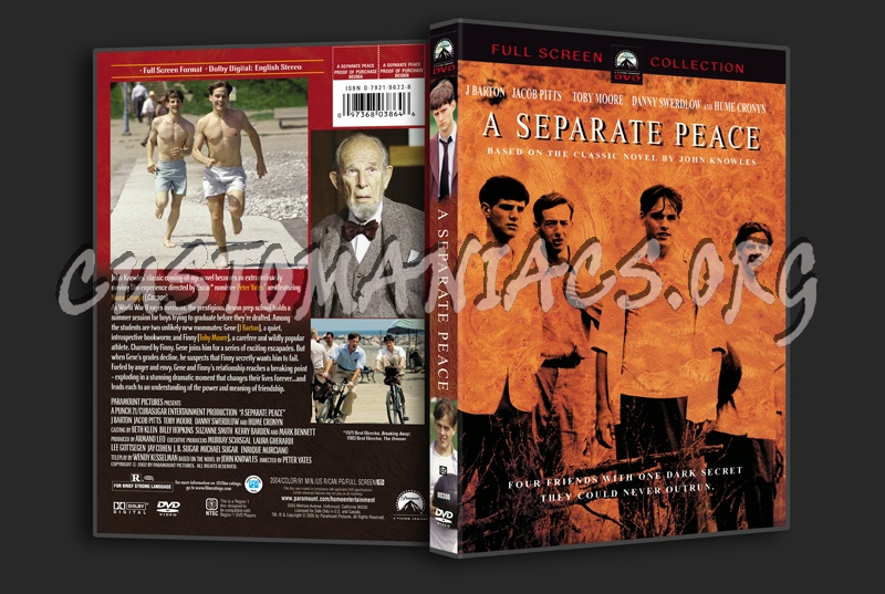 A Seperate Peace dvd cover