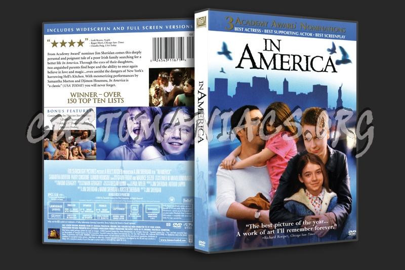 In America dvd cover