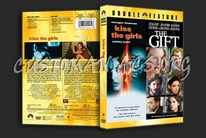 Kiss the Girls / The Gift dvd cover