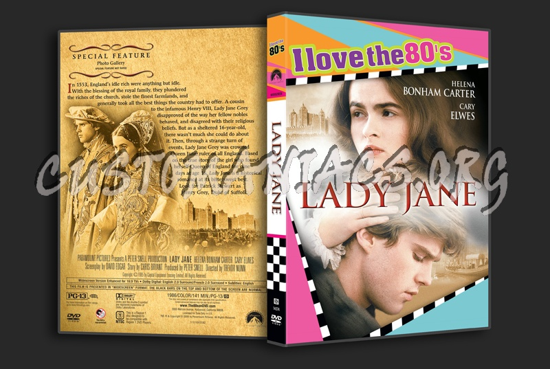 Lady Jane dvd cover