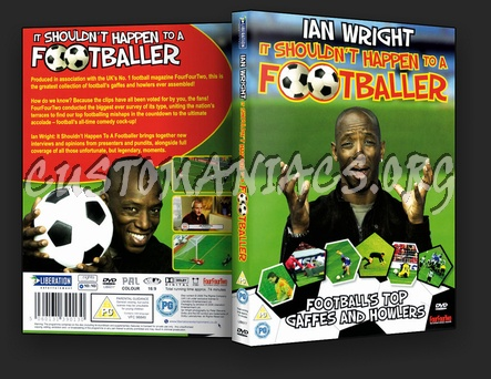 Ian Wright It Shouldn't Happen to a Footballer dvd cover