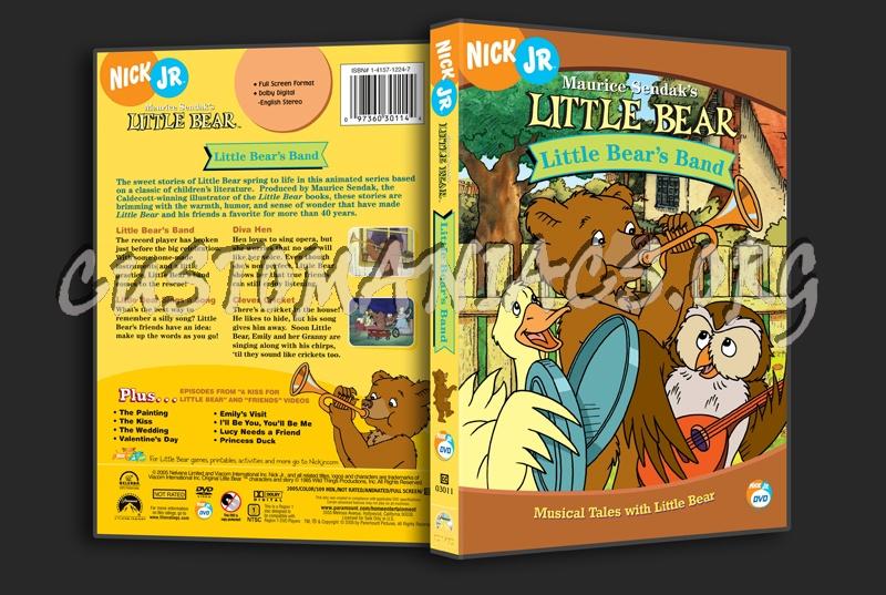 Little Bear: Little Bear's Band dvd cover