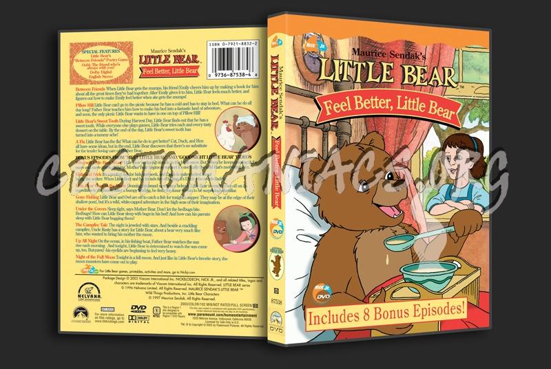 Little Bear: Feel Better, Little Bear dvd cover