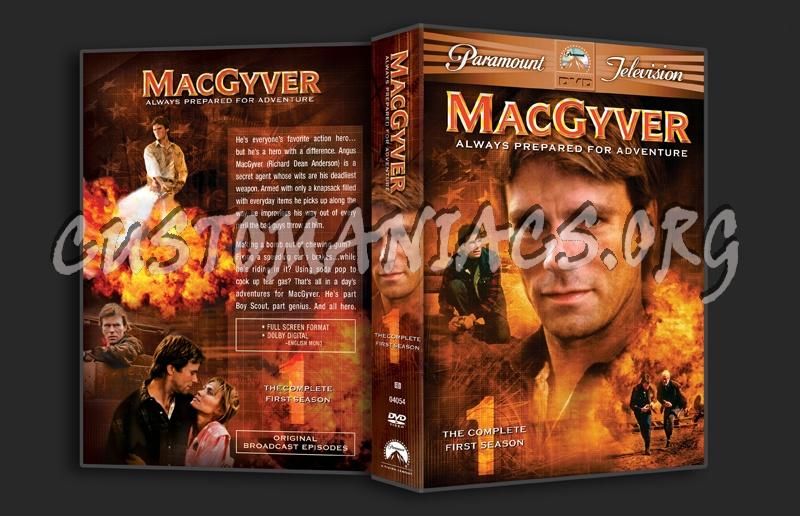 MacGyver Season 1 dvd cover