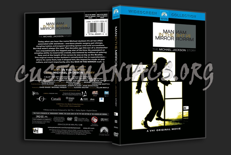Man in the Mirror dvd cover