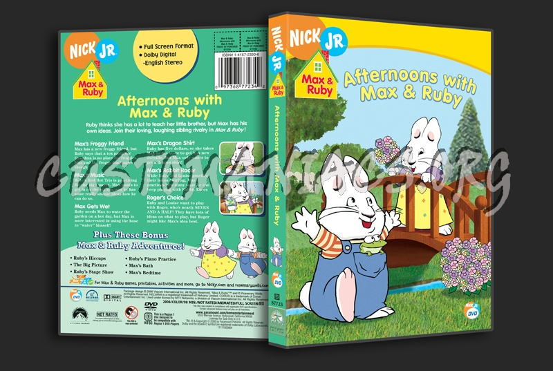 Max Amp Ruby Afternoons With Max Amp Ruby Dvd Cover Dvd