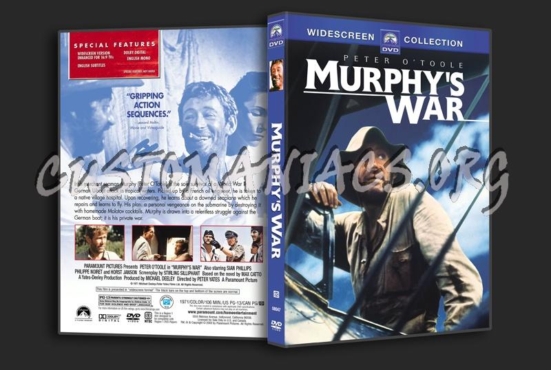 Murphy's War dvd cover