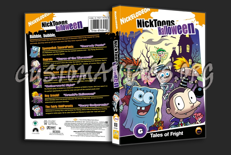 Nick Toons: Halloween dvd cover - DVD Covers & Labels by