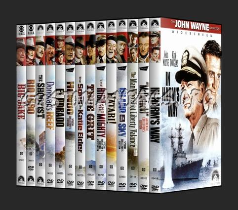 The John Wayne Collection dvd cover