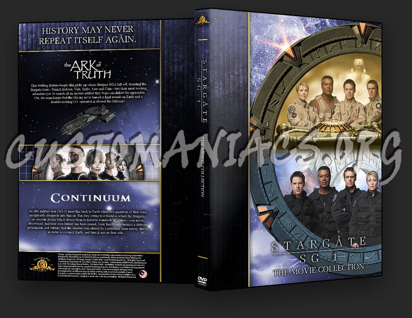 Stargate SG1 TV Movies dvd cover
