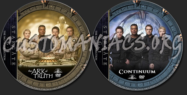 Stargate SG1 TV Movies - TV Collection dvd label