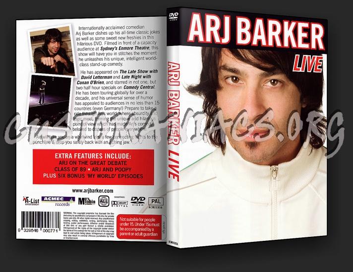 Arj Barker Live dvd cover