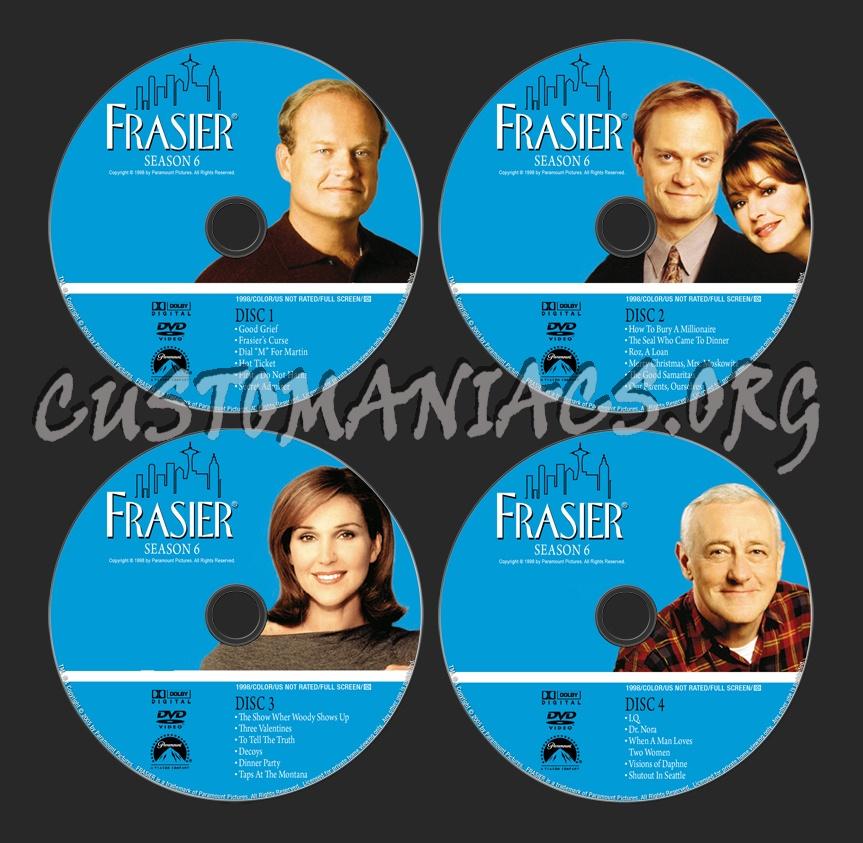 Frasier - Season 6 dvd label