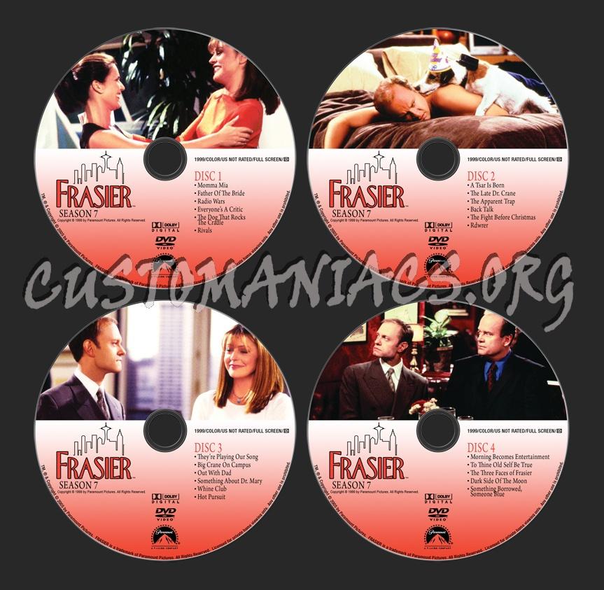 Frasier - Season 7 dvd label