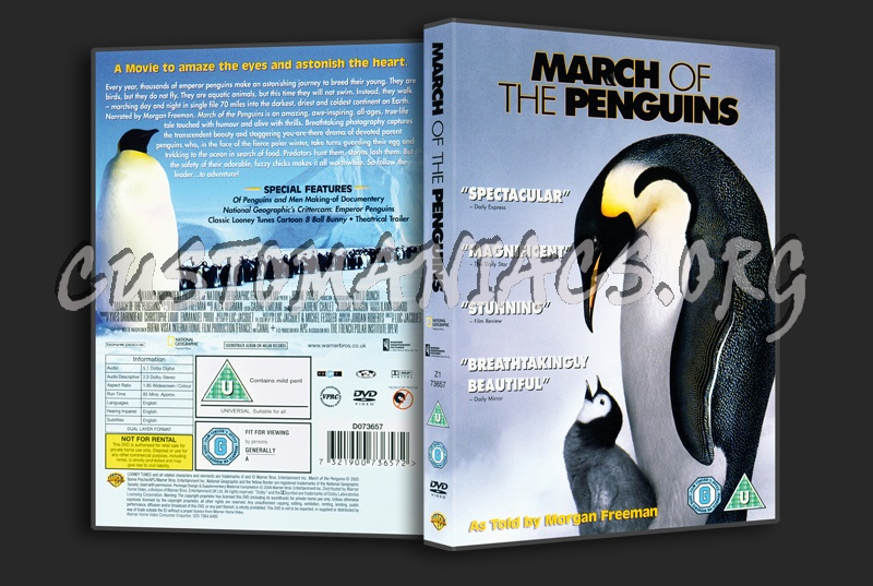March Of The Penguins dvd cover