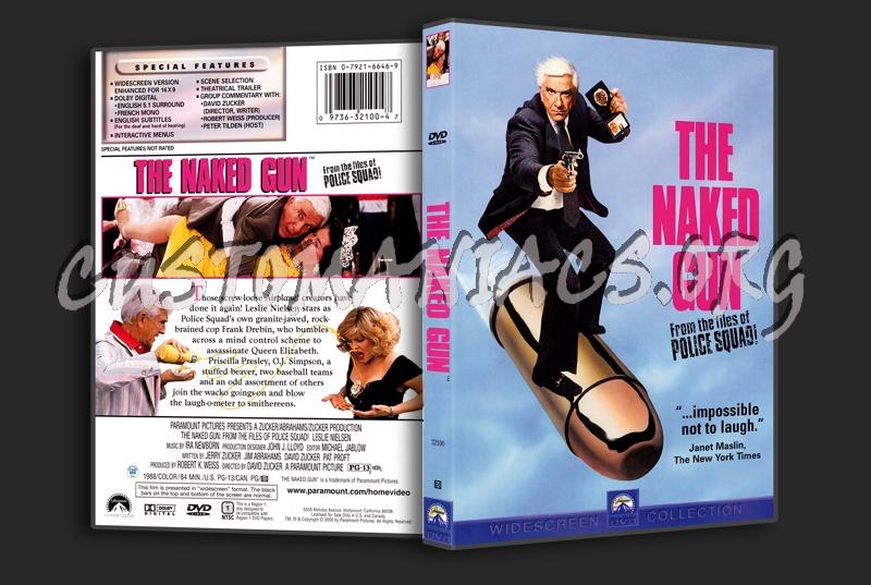 The Naked Gun dvd cover