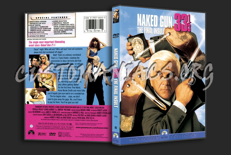Naked Gun 33 1/3 dvd cover