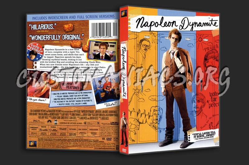 Napoleon Dynamite dvd cover