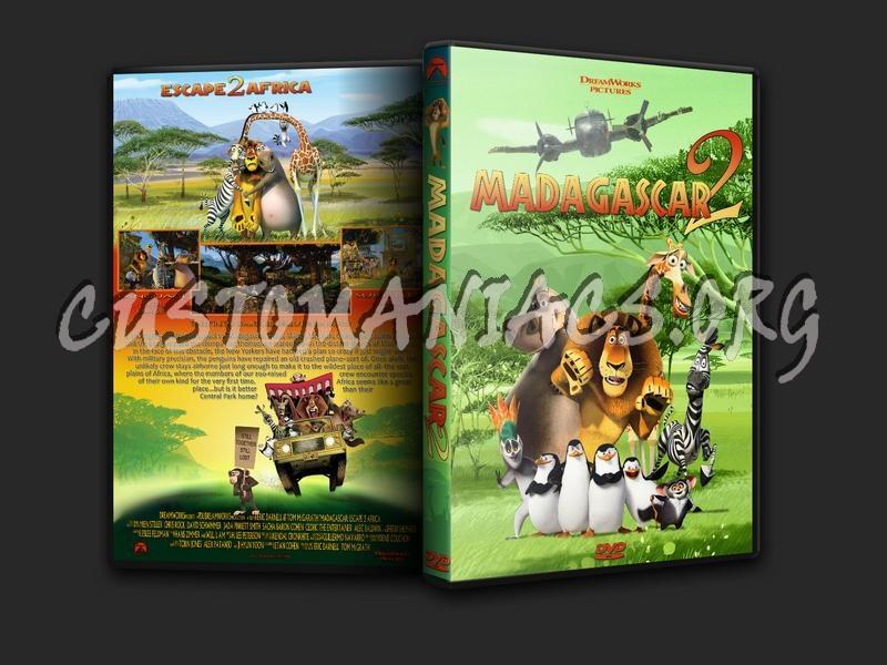 Madagascar 2 Movie Madagascar Escape 2 Africa Dvd Cover