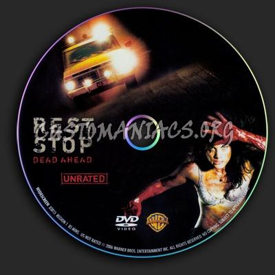 Rest Stop dvd label