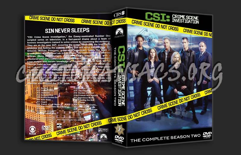 CSI Season 2 dvd cover
