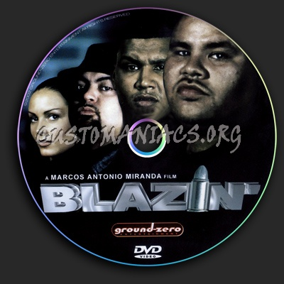 blazin disc dvd label