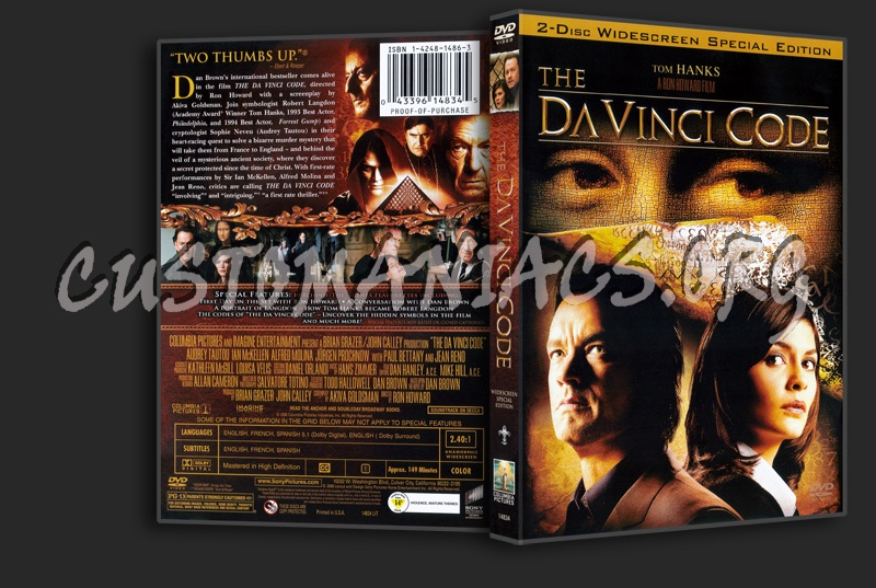The Da Vinci Code dvd cover