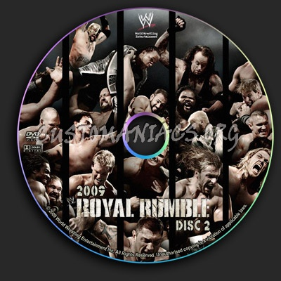 WWE - Royal Rumble 2009 dvd label