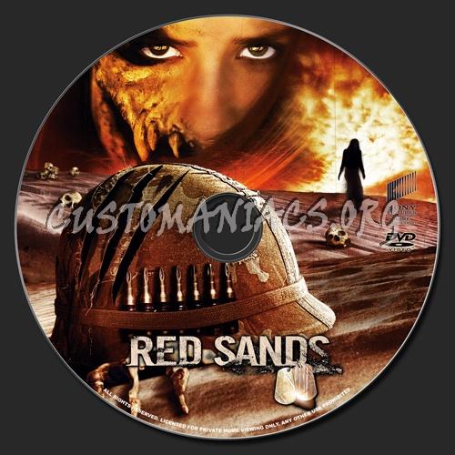 Red Sands dvd label