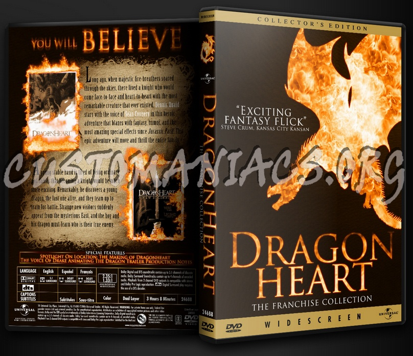 Dragonheart (Franchise Collection) dvd cover