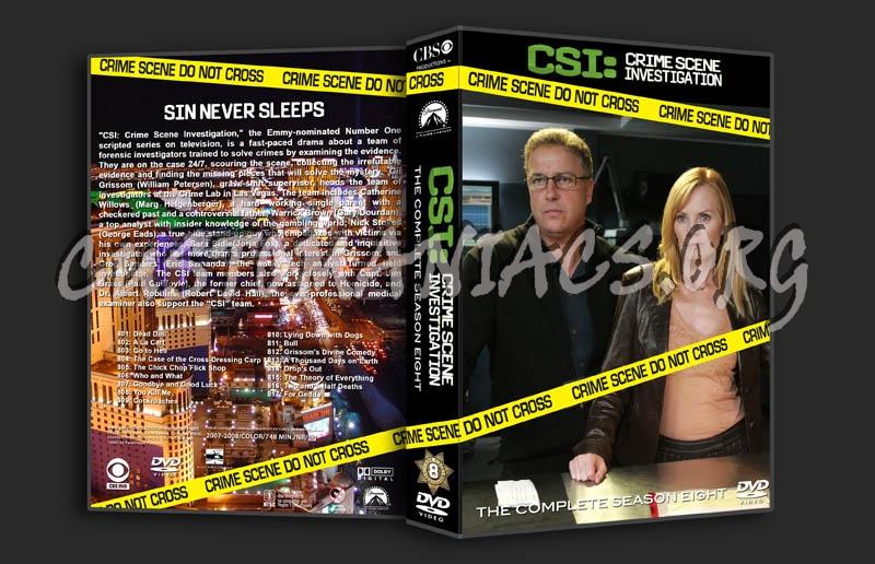 CSI Season 8 dvd cover