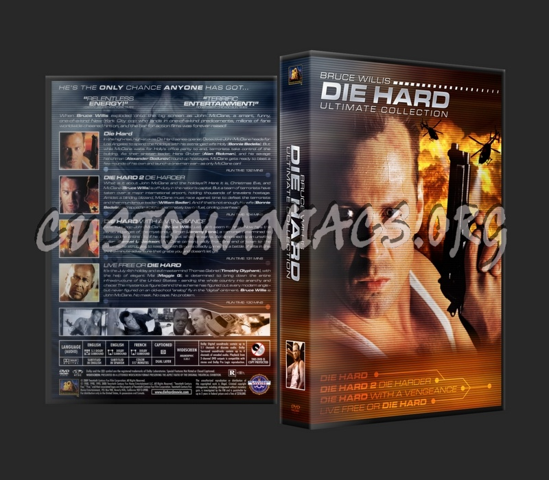 Die Hard Ultimate Collection dvd cover
