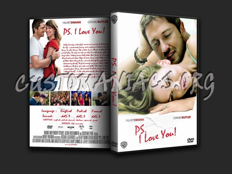 PS. I Love You dvd cover