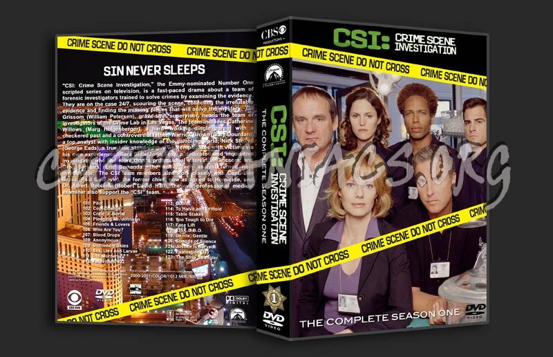 CSI Season 1-8 dvd cover
