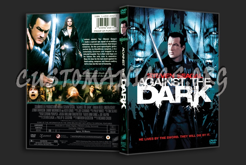 Against the Dark dvd cover