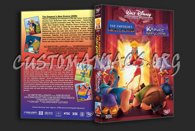 Emperor's New Groove/Kronk's New Groove Double Feature dvd cover