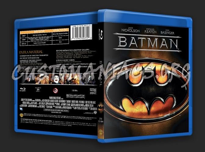 Batman blu-ray cover