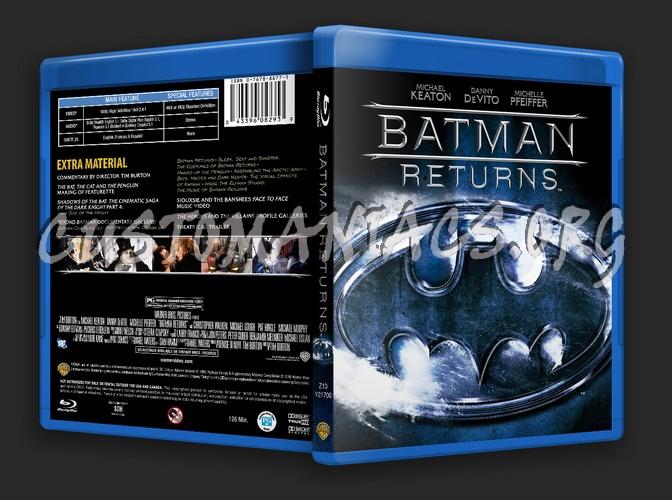 Batman Returns blu-ray cover