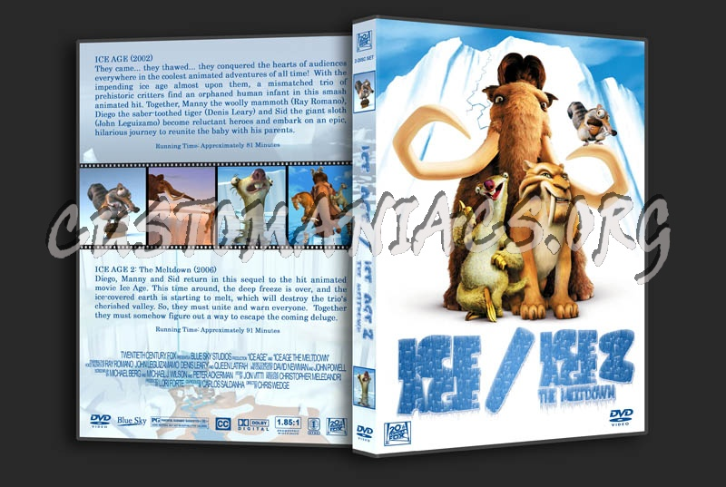 Ice Age/Ice Age 2 Double Feature dvd cover