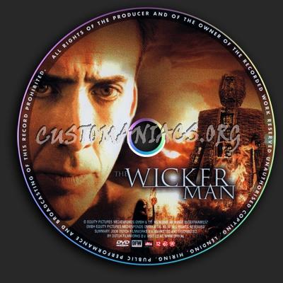 The Wicker Man dvd label