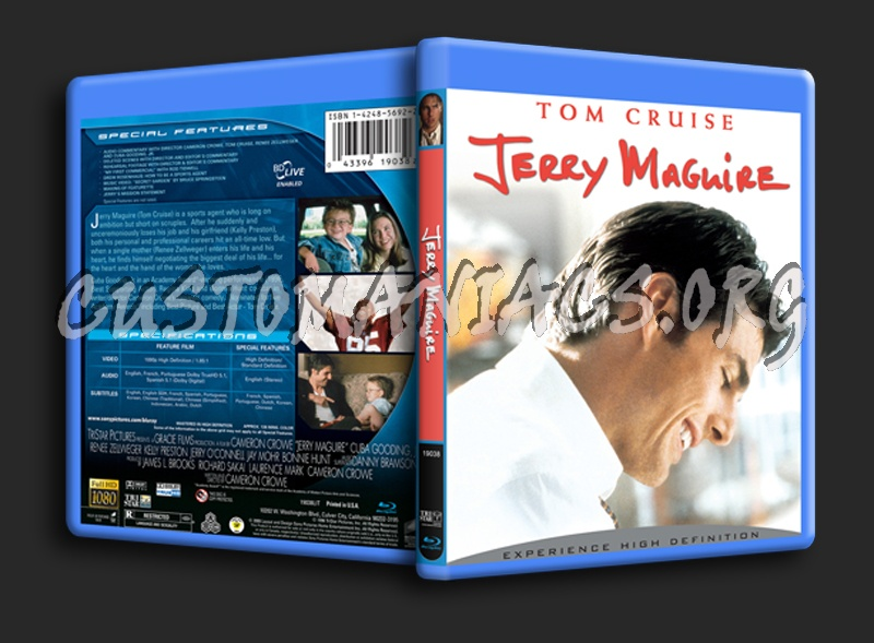 Jerry Maguire blu-ray cover