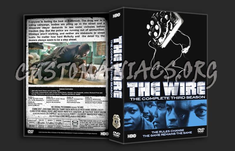 The Wire Season 3 Dvd Cover