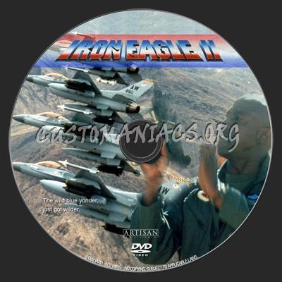 Iron Eagle II dvd label