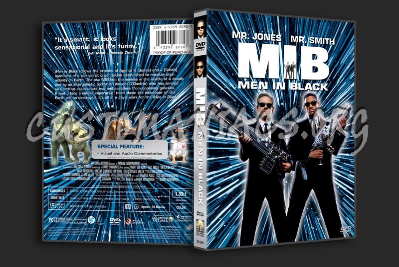 Men in Black dvd cover