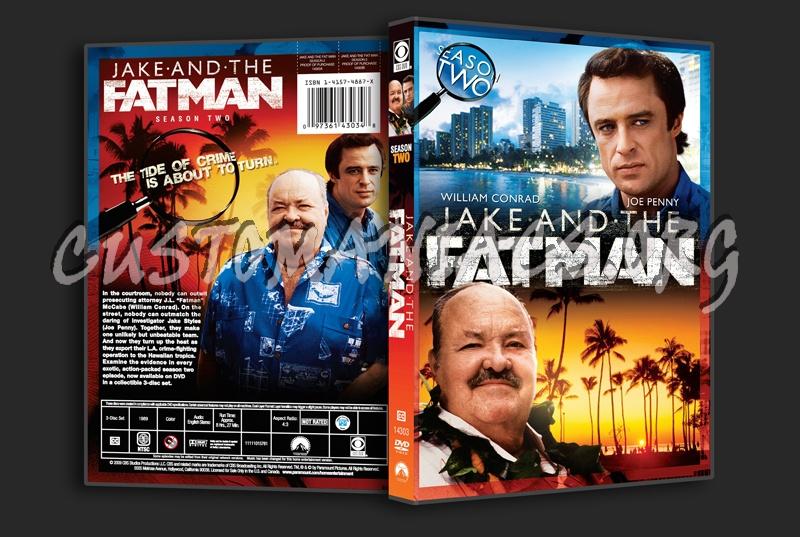 Jake and the Fatman Season 2 dvd cover
