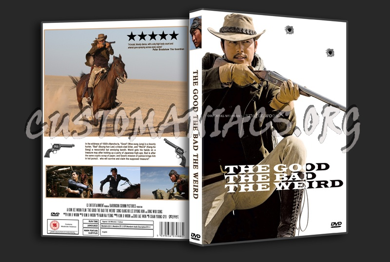 The Good the Bad the Weird dvd cover