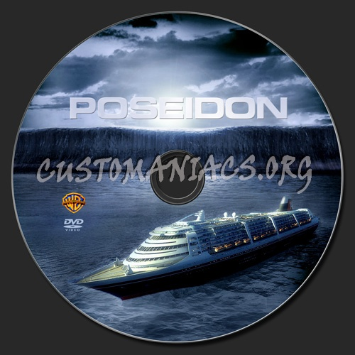 Poseidon dvd label